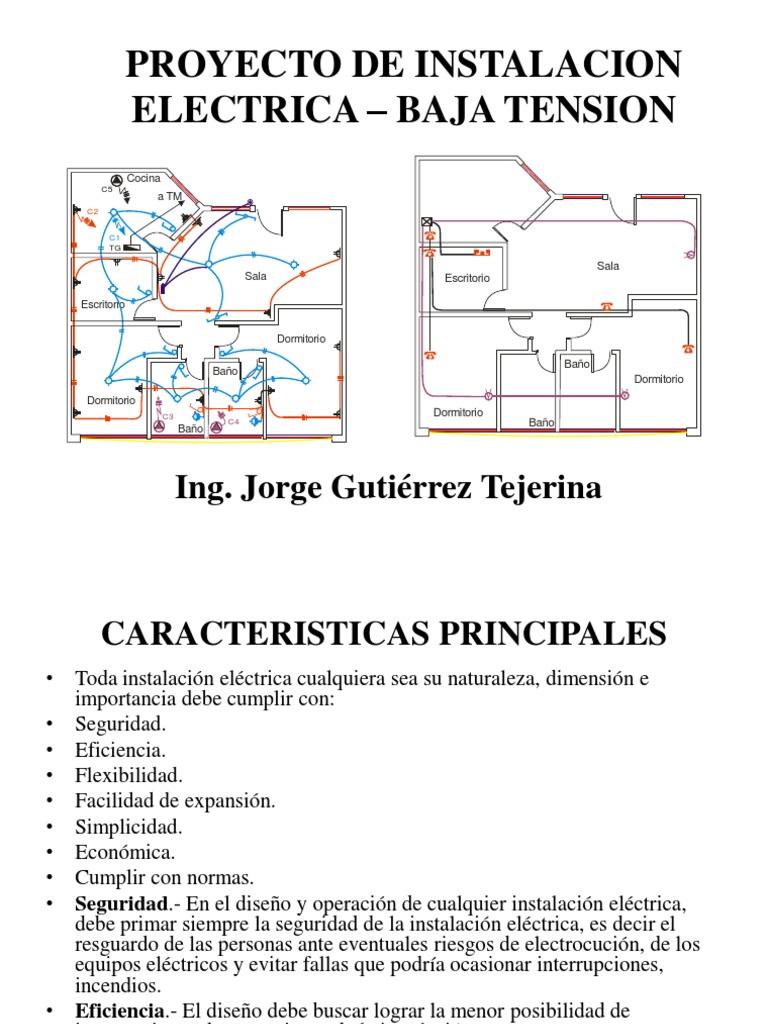 Circuito Unilineal : Elaboracion de un plano electrico