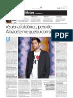 Entrevista a Dani Mateo