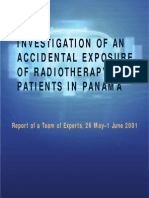 Investigation of an Accidental Overexposure of Patients in Panama