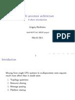 [2011!03!12] Multiprocessor Architecture