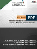 Presentación - Sr. Guillermo Marianacci