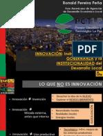 Presentación - Sr. Ronald Pereira Peña