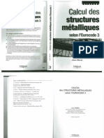 Calcul Des Structures Metalliques Selon l'EC3 - Morel - Eyrolles