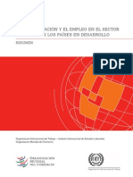 Globalización y desempleo en la informalidad-OIT