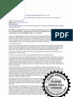 Responsabilidad del Estado por actividad judicial (artículo de Cassagne)