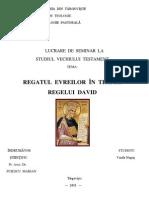 Regatul evreilor in timpul regelui  David