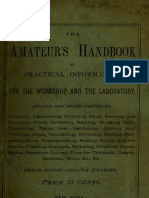 The amateur's handbook of practical information for the workshop and the laboratory (1879)