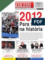 Jornal SEDUFSM de Fev a Dez 2012
