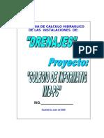 memoria Tecnica drenajes.doc