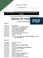 Curso Anual Formación Sacerdotal Permanente - Octubre 2011 - Horario aprobado.doc