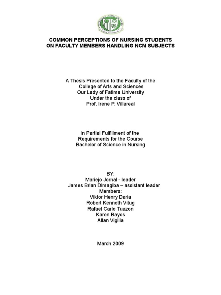 olfu thesis format