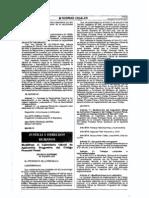 DS 019-2012-JUS Modifica Calendario de Aplicación de Código procesal Penal