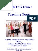 Israeli Folk Dance Teaching Notes