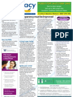 Pharmacy Daily for Fri 21 Dec 2012 - High blood pressure risk, Quit with Facebook, Lung risk, Pharmacist compliance and much more...