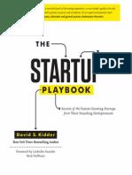 Startup Playbook Excerpt 1