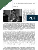 Giovanni Liotti- sulla terapia