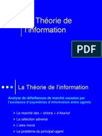 Seance 13 Theorie de Linformation