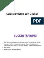 VI Entrenamiento Con Clicker