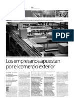 Reportaje sobre Comercio Exterior (parte 1)