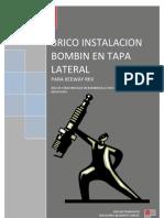 INSTALACION DE BOMBIN EN TAPA LATERAL KEEWAY RKV