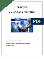 Pasos Para Exportar