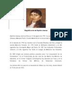 Biografía corta de Hipólito Unanue