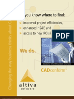 AltivaSoftware CADconform Brochure