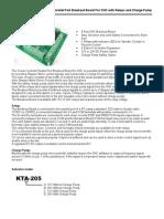 KTA205 Manual