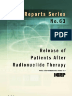 Safety_Report_Series_No.63_Release of Patients After Radionuclide Therapy