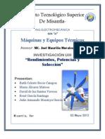 MÁQUINAS Y EQUIPOS TÉRMICOS-INVU3