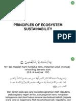 4. Prinsip-prinsip Sustainability Ekosistem