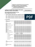 Formulir PPDB SMA Stella Duce 2 Yk