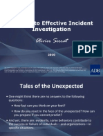 A Guide to Effective Incident Investigation
