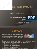 TIPOS DE SOFWARE