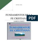 Boice - Fundamentos de La Fe Cristiana (Capitulos 01 - 21)