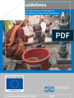 Model Guidelines for MAINSTREAMING wATER AND sANITATION eMERGENCIES pROTRACTED cRISES, LRRD and Disaster Preparedness Operations.