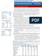 Company Report -Reliance Broadcast Network 17th April 2012