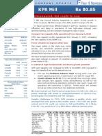 KPR Mill Report Update Q3 FY12 V17Apr 2012