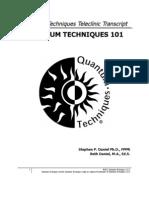 Quantum Techniques 101 Transcript