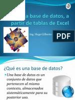 Crear Una Base de Datos Sencilla