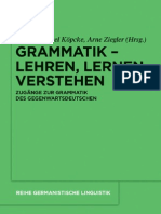 Enke Hentschel - Deutsche Grammatil
