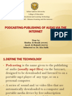 Podcast technology