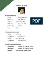 Personal Profile