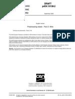 PrEN 10138-2 - 2000 - Prestressing Steels Part 2 - Wire