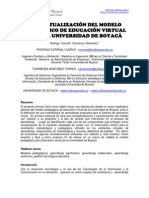 CONCEPTUALIZACIÓN DEL MODELO PEDAGÓGICO DE EDUCACIÓN VIRTUAL