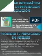 SEGURIDAD INFORMÁTICAMEDIDAS DE PREVENCIÓN  Y SOLUCIÓN