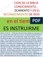 LA FUNCIÓN DE LA BIBLIA.