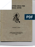 Operating Ideas for Small Mines