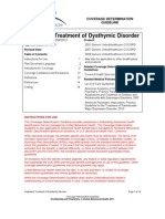 UBH Outpatient Treatment of Dysthymic Disorder.pdf