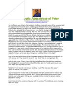 The Gnostic Apocalypse of Peter